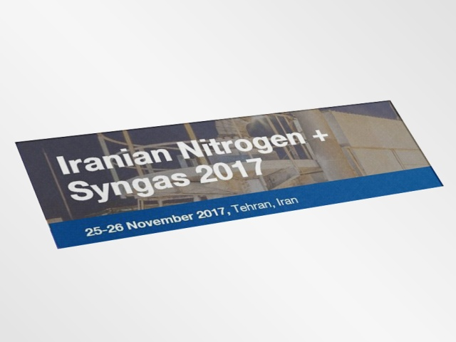 Iranian Nitrogen + Syngas Conference 2017